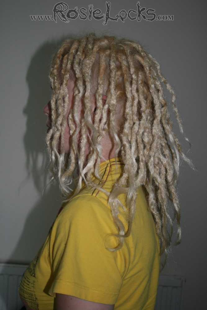 Synthetic crocheted dreads