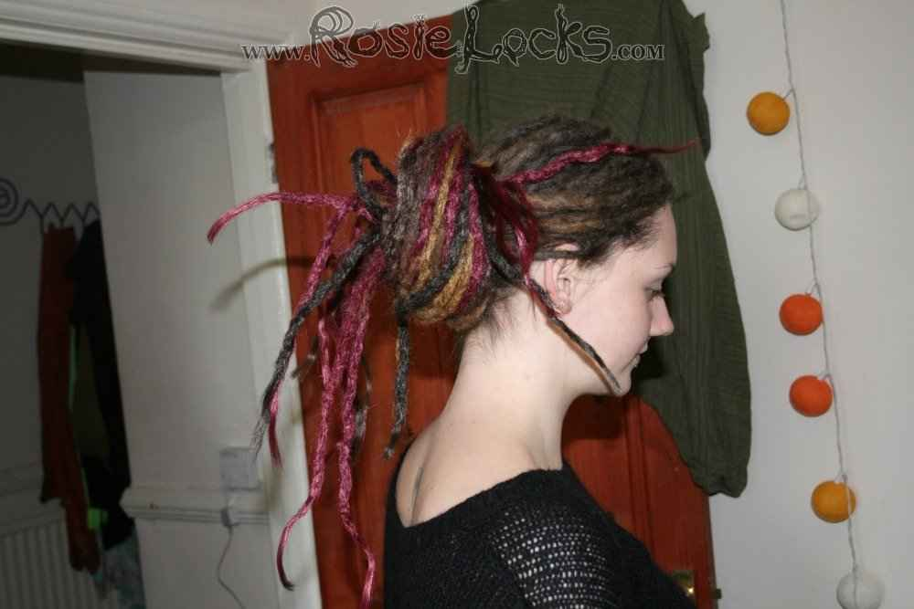 Crocheting Hair Dreads : Dreadlocks Synthetic Crocheted - Rosie Locks UK - Rosie Locks ...