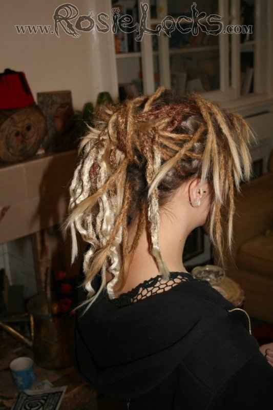 Crochet Dreads : Synthetic crocheted dreads